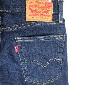 Levi's Men's 513 Slim Straight Fit Jeans 29x32